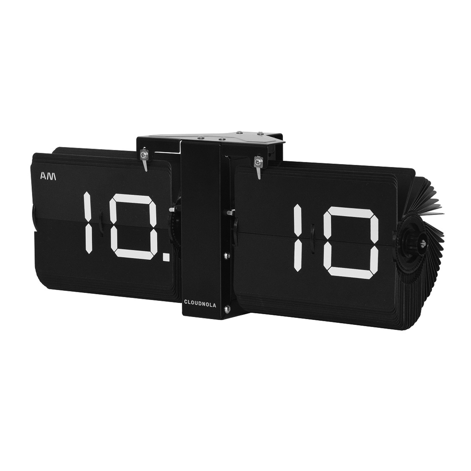 Cloudnola Flip Clock black/black