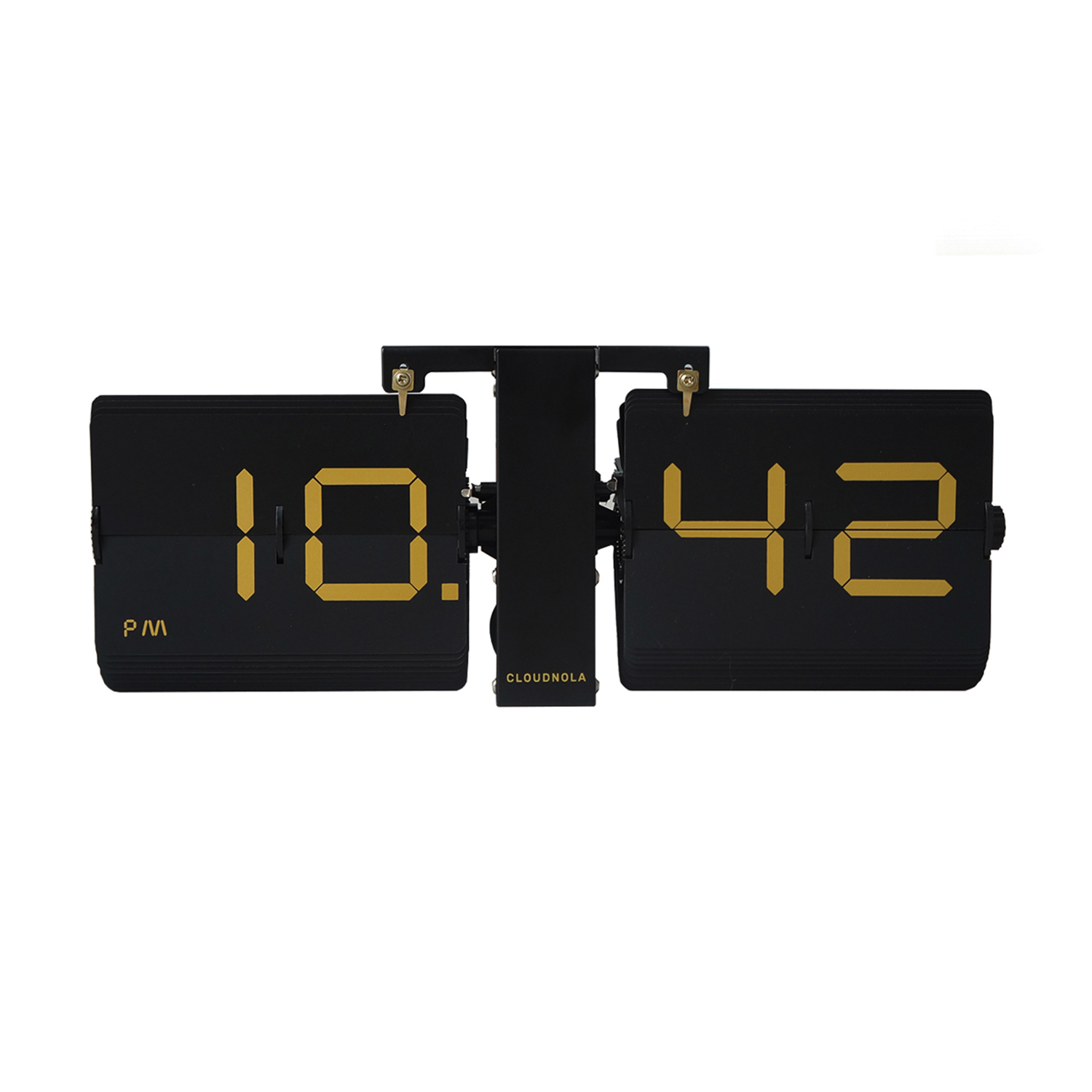 Cloudnola Flipclock DeLuxe Black/Gold