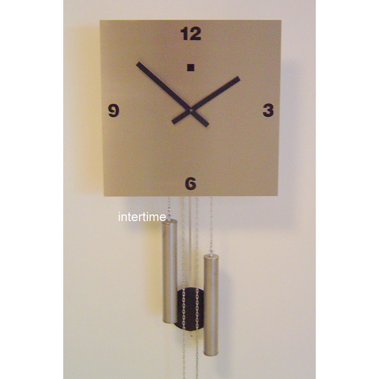 Stainlst wallclock BB