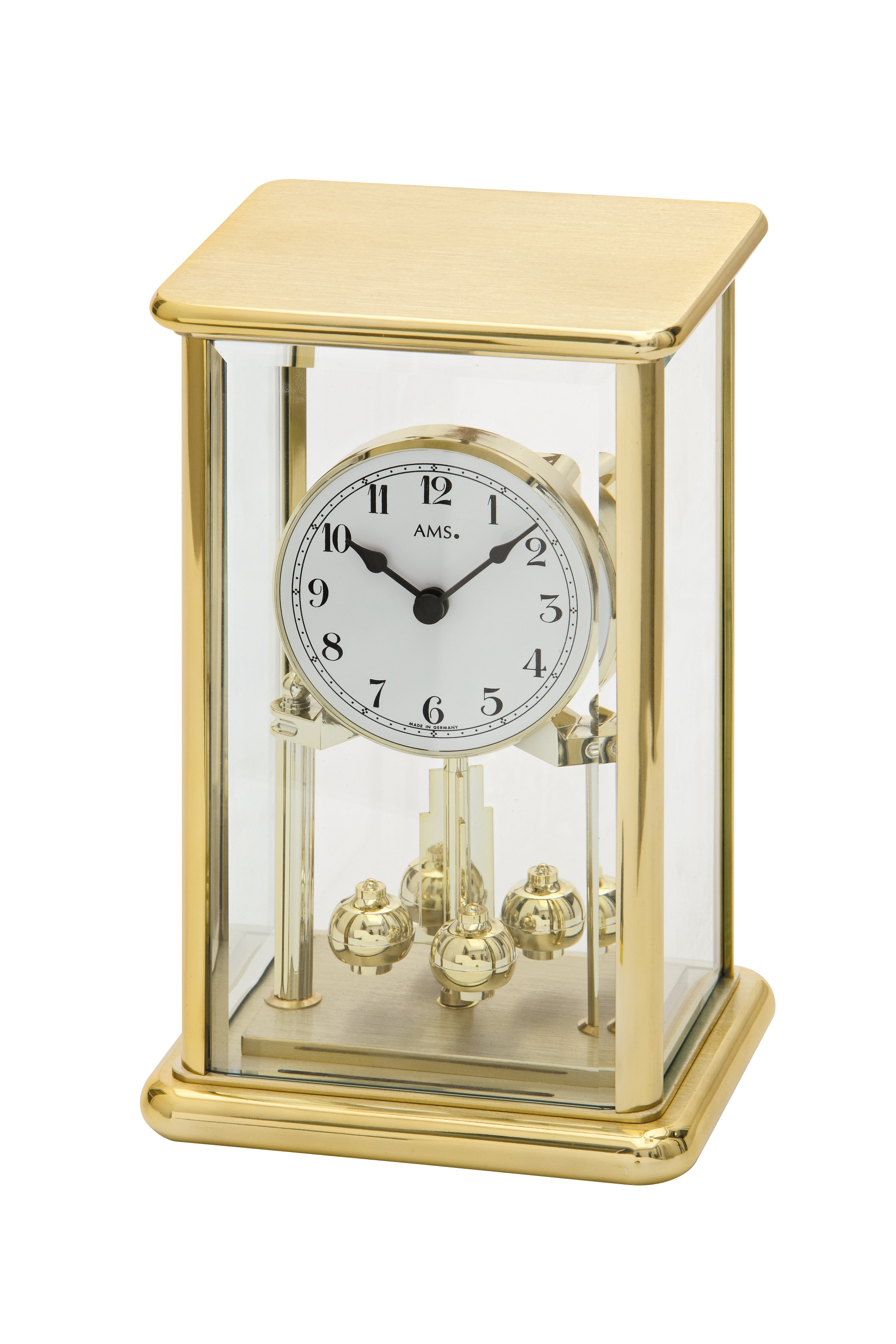 AMS annual clock brass 23cm