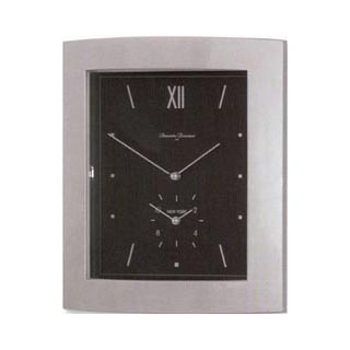 Diamantini Domeniconi Duo Time, silver, black dial
