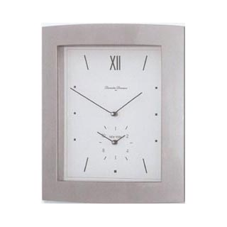 Diamantini Domeniconi Duo Time, silver, white dial